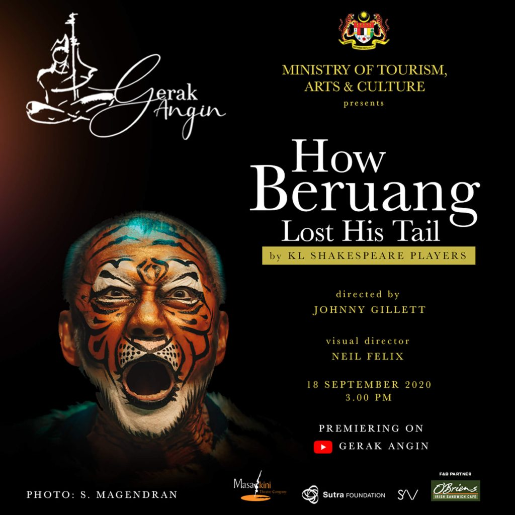 How Beruang Lost His Tail