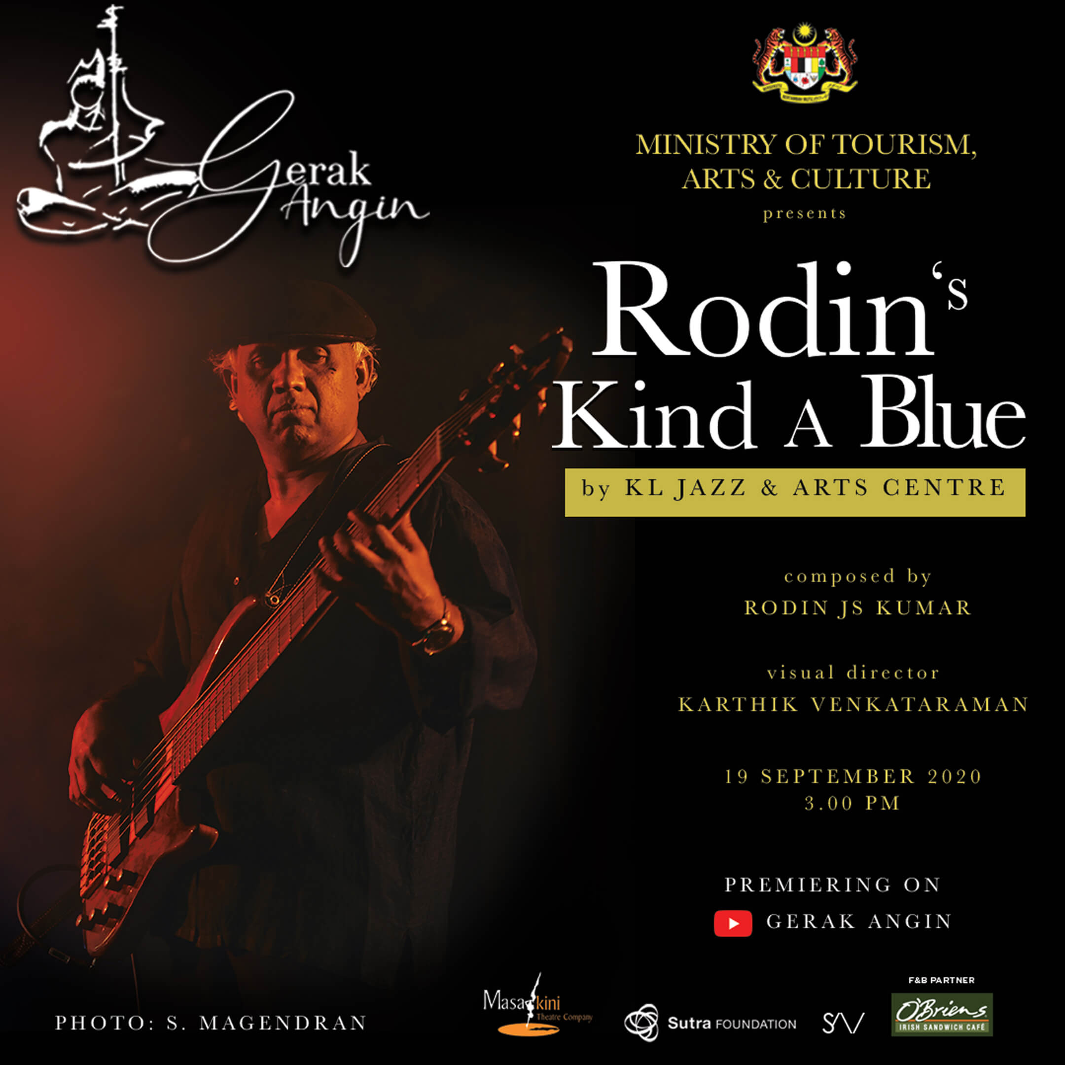 KL Jazz & Arts Centre Rodin's Kind A Blue